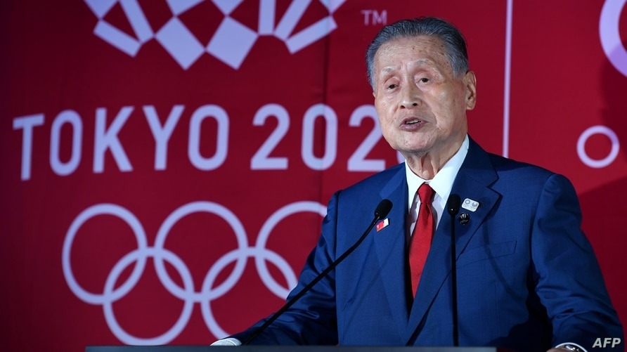 (FILES) In this file photo taken on July 24, 2019 (FILES) This file photo taken on July 24, 2019 shows president of Tokyo 2020…