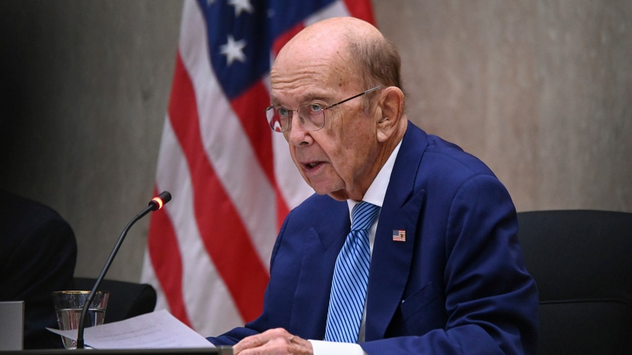 Commerce Secretary Wilbur Ross speaks during the third annual U.S.-Qatar Strategic Dialogue at the State Dept., Monday, Sept…