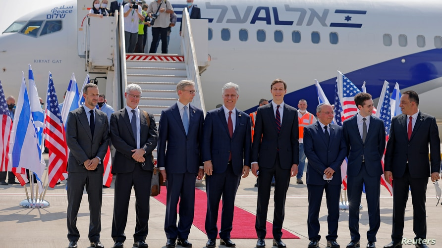 Israeli and U.S. officials to fly to UAE to cement 'normalisation' deal