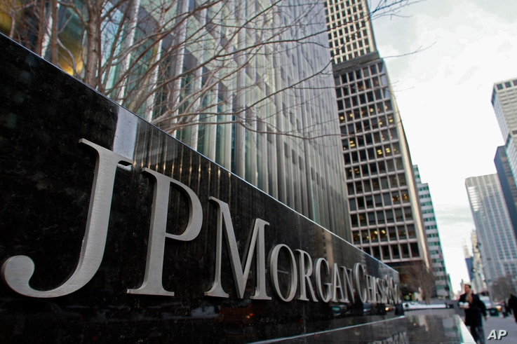 JP Morgan Chase building sign, Friday, Feb. 4, 2011 in New York.  E-mails and other internal documents show that executives at…