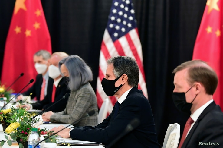 U.S.-China talks in Anchorage