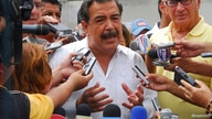 Ecuador's opposition leader and Guayaquil Mayor Jaime Nebot addresses media during the referendum vote in Guayaquil September…