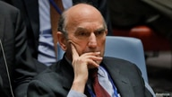 United States diplomat Elliott Abrams listens during a meeting of the U.N. Security Council called to vote on a U.S. draft…