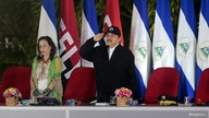 Nicaragua's President Daniel Ortega greets soldiers during the oath of the Commander in Chief of the Nicaraguan army General…