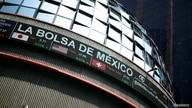 The building of Mexico's stock exchange is pictured after Latin American stocks tanked amid continued concerns over the…