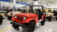FILE PHOTO: ROXOR off-road vehicles are seen in the Mahindra Automotive North America assembly plant in Auburn Hills, Michigan,…