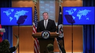 U.S. Secretary of State Mike Pompeo takes questions during a news conference at the State Department in Washington, U.S., July…