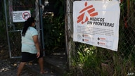 A resident arrives for a medical consultation in a clinic of the organization Doctors Without Borders (MSF) installed at the…