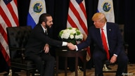 U.S. President Donald Trump holds a bilateral meeting with El Salvador's President Nayib Bukele on the sidelines of the 74th…