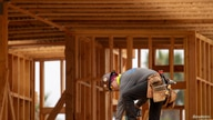 A construction worker on the job at a commercial project during the outbreak of the coronavirus disease (COVID-19) in Encinitas…