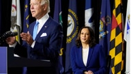 Democratic presidential candidate former Vice President Joe Biden, joined by his running mate Sen. Kamala Harris, D-Calif.,…