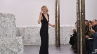 Designer Gabriela Hearst greets the audience at her show during New York Fashion Week: The Shows on February 11, 2020 in New…