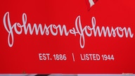 FILE PHOTO: The company logo for Johnson & Johnson is displayed to celebrate the 75th anniversary of the company's listing at…