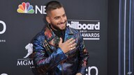 Maluma arrives at the Billboard Music Awards on Wednesday, May 1, 2019, at the MGM Grand Garden Arena in Las Vegas. (Photo by…