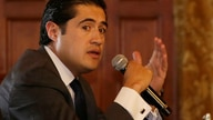 Ecuador's Economy Minister Richard Martinez speaks at the government palace in Quito, Ecuador, Tuesday, March 10, 2020…