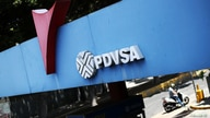 A state oil company PDVSA's logo is seen at a gas station in Caracas, Venezuela May 17, 2019. REUTERS/Ivan Alvarado