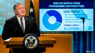 U.S. Secretary of State Mike Pompeo speaks during a news conference at the State Department, in Washington, DC, U.S., October…