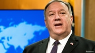 FILE PHOTO: U.S. Secretary of State Mike Pompeo speaks during a news conference at the State Department, in Washington, DC, U.S…