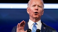 U.S. President-elect Joe Biden delivers remarks during a televised speech on the current economic and health crises at The…