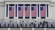 A general view of preparations prior a dress rehearsal for U.S. President-elect Joe Biden's Presidential Inauguration at the U…