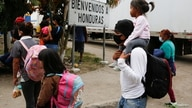 Honduran migrants who were trying to reach the U.S. are sent back by Guatemalan authorities, at El Florido border between…