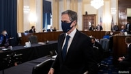 Antony J. Blinken, of New York, arrives prior to his confirmation hearing to be Secretary of State before the U.S. Senate…