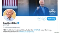 The @potus Twitter account of U.S. President Joe Biden is seen shortly after his inauguration in Washington, U.S., January 20,…