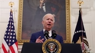 U.S. President Joe Biden speaks about his administration's plans to respond to the economic crisis  during a coronavirus…