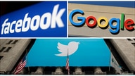 FILE PHOTO: Facebook, Google and Twitter logos are seen in this combination photo from Reuters files. REUTERS/File Photos/File…