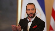 President of El Salvador Nayib Bukele speaks at a joint news conference with U.S. Secretary of State Mike Pompeo at the…