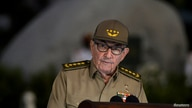 FILE PHOTO: Cuban First Secretary of Communist Party Raul Castro Ruz gives a speech, on January 01, 2019, during the…