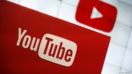 FILE PHOTO: YouTube logo at the YouTube Space LA in Playa Del Rey, Los Angeles, California, United States October 21, 2015…