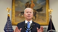 U.S. President Joe Biden delivers remarks on the Colonial Pipeline incident while facing reporters in the Roosevelt Room at the…