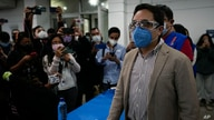 Special Prosecutor's Office Against Impunity Juan Francisco Sandoval arrives to a press conference in Guatemala City, Friday,…