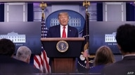 WASHINGTON, DC - AUGUST 14: U.S. President Donald Trump speaks during a news conference in the briefing room of the White House…