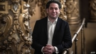 Venezuelan conductor and director of Los Angeles' Philharmonic Orchestra Gustavo Dudamel, newly appointed Paris Opera's music…