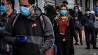 People in Brooklyn's Sunset Park, a neighborhood with one of the city's largest Mexican and Hispanic community, wear masks to…