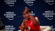 FILE - In this Thursday, May 8, 2014 file photo, executive director of the charity Oxfam Winnie Byanyima speaks during the…