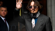 Johnny Depp arrives at the High Court in London, Wednesday July 8, 2020. Johnny Depp is facing a second day of cross…