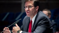 Defense Secretary Mark Esper testifies during a House Armed Services Committee hearing on Thursday, July 9, 2020, on Capitol…