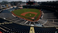 An empty Nationals Stadium is seen during a Washington Nationals' baseball training camp workout, Sunday, July 5, 2020, in…