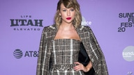 "FILE - This Jan. 23, 2020 file photo shows Taylor Swift at the premiere of ""Taylor Swift: Miss Americana"" in Park City, Utah…"