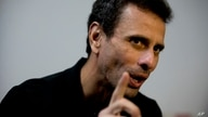 FILE - In this July 30, 2018 file photo, Venezuela's opposition leader Henrique Capriles speaks during an interview at his…