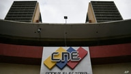 The National Electoral Council headquarters stands in Caracas, Venezuela, Monday, June 15, 2020. The CNE swore new leaders…
