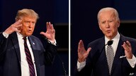 In this combination image of two photos showing both President Donald Trump, left, and former Vice President Joe Biden during…