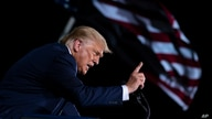 President Donald Trump speaks during a campaign rally at Cecil Airport, Thursday, Sept. 24, 2020, in Jacksonville, Fla. (AP…