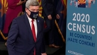 U.S. Census Director Steven Dillingham departs a census news conference to urge Arizonans to participate in the nation's once-a…