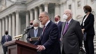 Senate Minority Leader Chuck Schumer, D-N.Y., and Democratic members of the Senate Judiciary Committee hold a news conference…