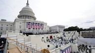 Preparations are made prior to a dress rehearsal for the 59th inaugural ceremony for President-elect Joe Biden and Vice…