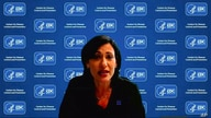 In this image from video, Dr. Rochelle Walensky, director of the Centers for Disease Control and Prevention, speaks during a…